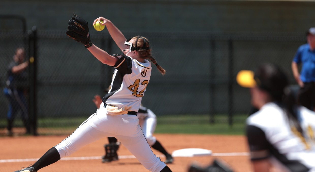 Photo for Daniel Sets National Strikeout Record; Golden Tigers Roll In Tournament Opener