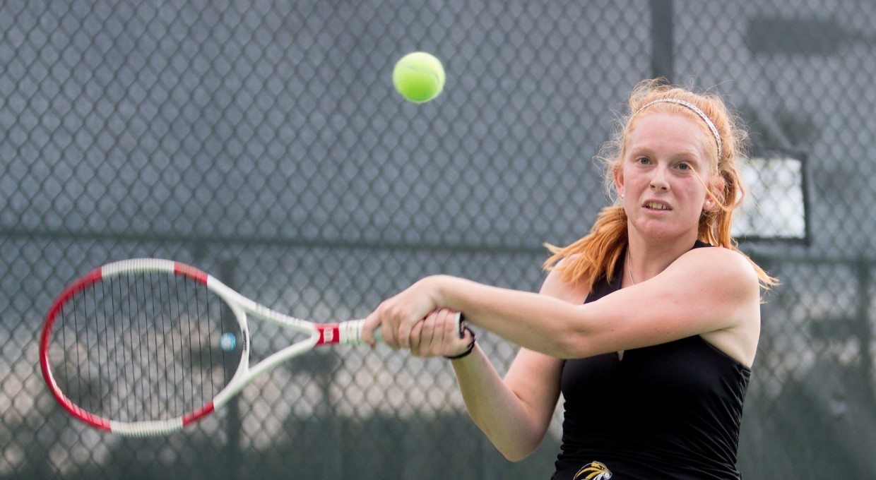 Photo for Tennis Competes In SSAC Play
