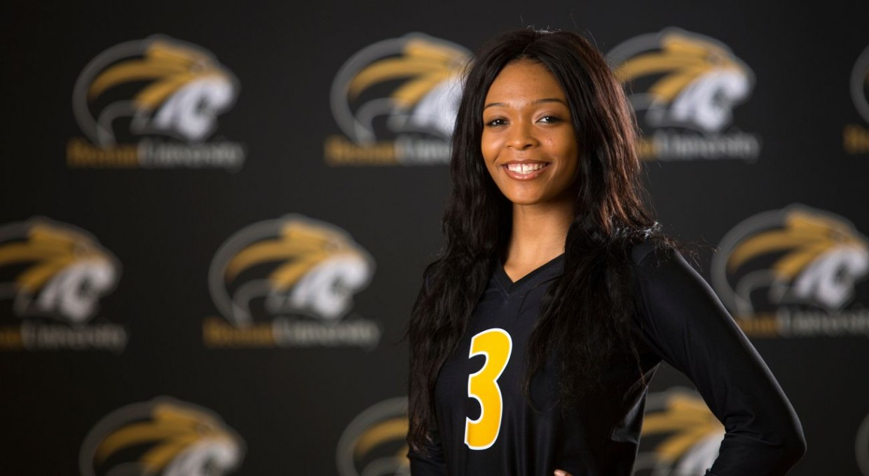 Photo for Jones Named SSAC Volleyball Attacker of the Week