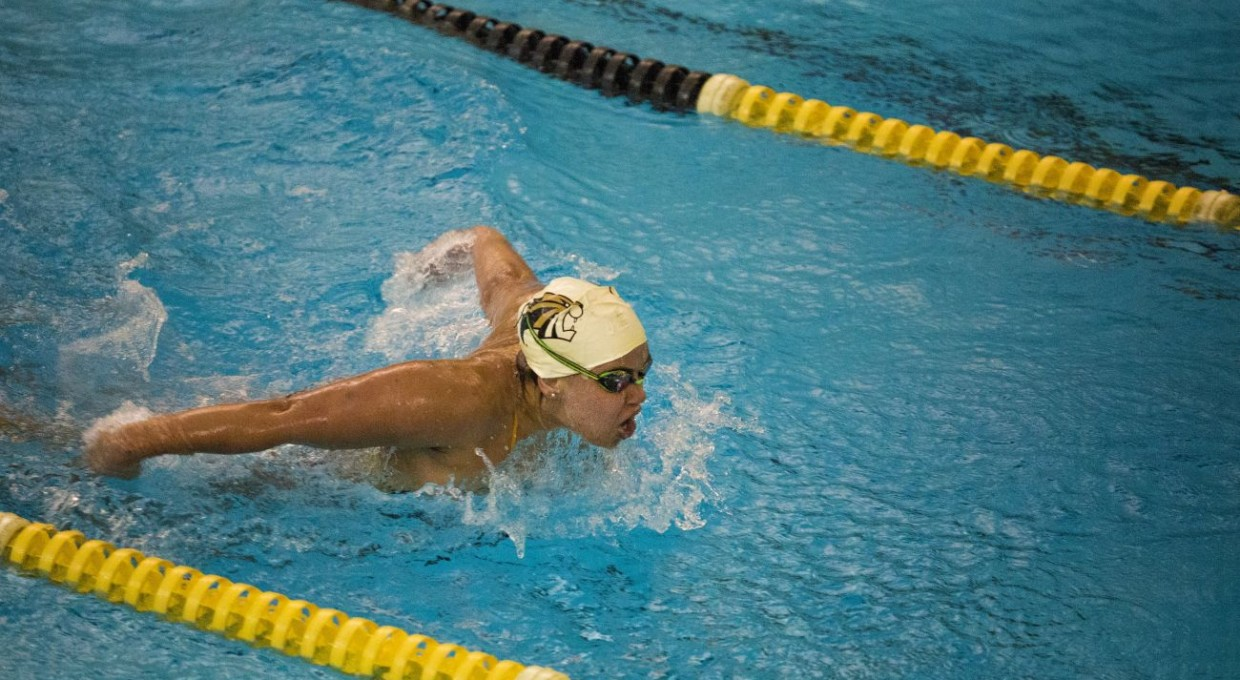 Photo for Swimming Captures Third Straight Conference Title